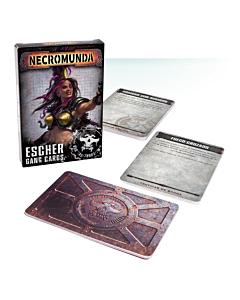 CARTAS - Necromunda Escher Gang Cards (Ingles)
