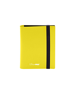 ULTRA PRO - 2-Pocket Eclipse PRO-Binder Lemon Yellow