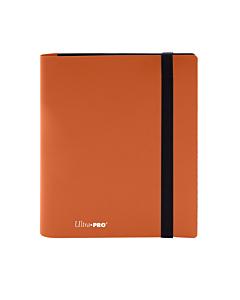 ULTRA PRO - 4 Pocket Eclipse Pumpkin PRO-Binder Orange