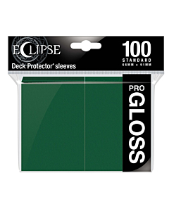 ULTRA PRO - Eclipse Gloss Standard Sleeves Forest Green C/100