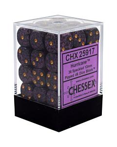 CHESSEX - Dados Hurricane 12mm  c/36