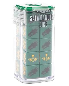 Dados - WH40K Salamanders