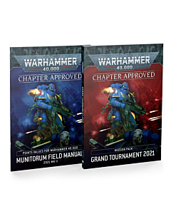 WH40K - Chapter Approved Grand Tournament and Munitorum Field Manual 2021 (Inglés)