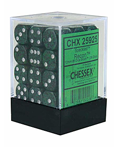 CHESSEX - Dados Recon 12mm  c/36
