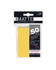 ULTRA PRO - Micas Pro-Matte STND c/50 Amarillo