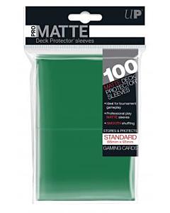 ULTRA PRO - Micas Pro-Matte STND c/100 Verde