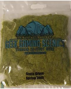GEEK GAMING - 2mm Spring Static Grass