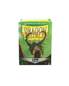 Dragon Shield - Micas STND Lime Matte c/100
