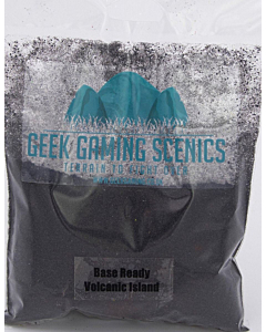 GEEK GAMING - Base Ready Volcanic island