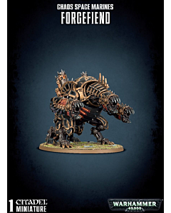 WH40K - Chaos Space Marines Forgefiend/ Maulerfiend