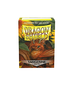 Dragon Shield - Micas STND Tangerine Matte c/100