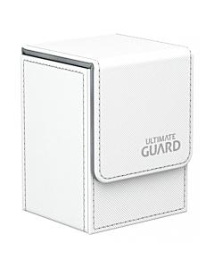 ULTIMATE GUARD - Flip Deck Case 80+ Standard Size XenoSkin Blanco