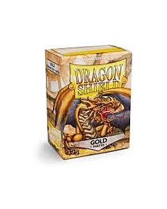 Dragon Shield - Micas STND Gold Matte c/100