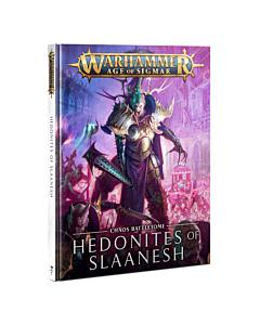 Libro - WHAOS  Chaos Battletome Hedonites of Slaanesh (Inglés)