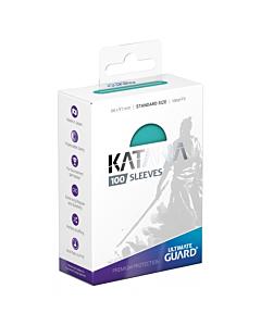 ULTIMATE GUARD - Katana Sleeves Standar Size Turquesa (100)