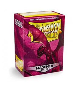 Dragon Shield - Micas STND Magenta Matte c/100