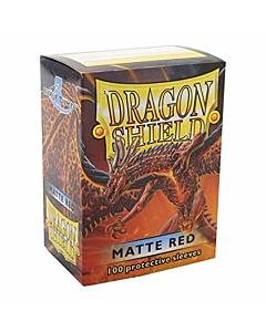 Dragon Shield - Micas STND Red Matte c/100