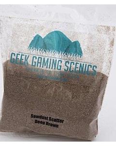 GEEK GAMING - Saw Dust Scatter Deep Brown