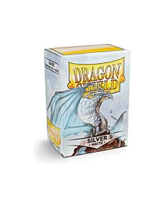 Dragon Shield - Micas STND Silver MATTE c/100
