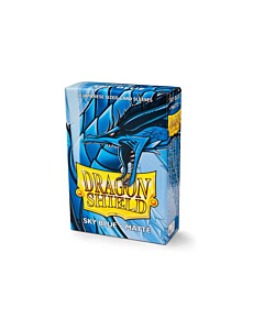 Dragon Shield - Micas Small JPN Size Sky Blue Matte c/60