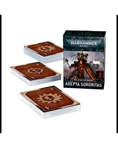 CARTAS - WH40K Datacards Adepta Sororitas (Español)