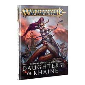 Libro - WHAOS Order Battletome Daughters of Khaine (Español)