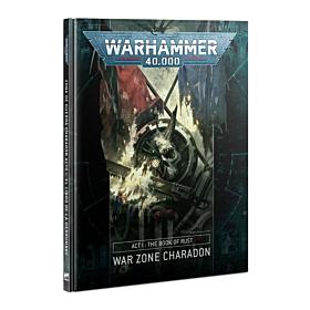 Libro - WH40K ACT 1: Book of Rust War Zone Charadon (Español)