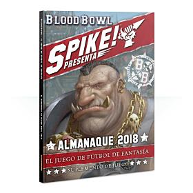 Libro - Blood Bowl Spike 2018 Almanac! (Español)