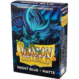 Dragon Shield - Micas Small JPN Size Night Blue Matte c/60
