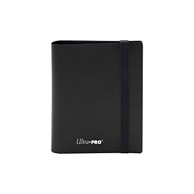 ULTRA PRO - 2-Pocket Eclipse PRO-Binder Jet Black