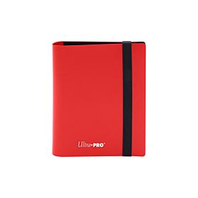 ULTRA PRO - 2-Pocket Eclipse PRO-Binder Apple Red