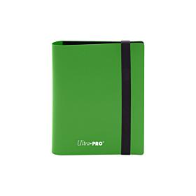 ULTRA PRO - 2-Pocket Eclipse PRO-Binder Lime Green