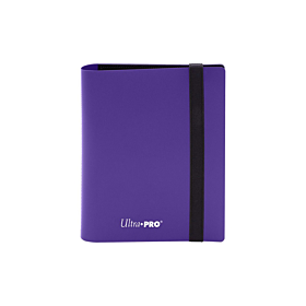 ULTRA PRO - 2-Pocket Eclipse PRO-Binder Royal Purple