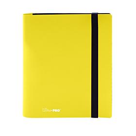ULTRA PRO - 4 Pocket Eclipse PRO-Binder Lemon Yellow