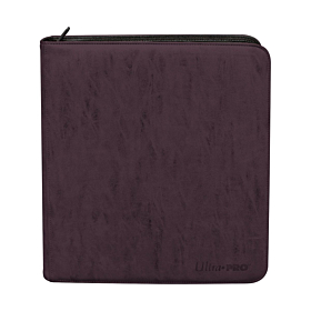ULTRA PRO - Suede Collection Deck Builder's Playset PRO-Binder  Amethyst
