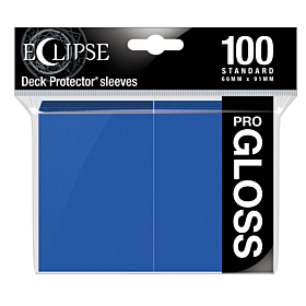 ULTRA PRO - Eclipse Gloss Standard Sleeves Pacific Blue C/100