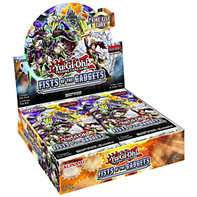 Yu-Gi-Oh! - Fists of the Gadgets Booster Box c/24 Packs