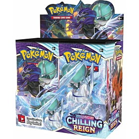 POKÉMON - Sword & Shield Chilling Reign Booster Display c/36