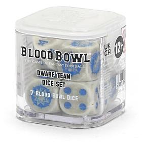 Dados - Blood Bowl Dwarf Team
