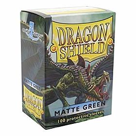 Dragon Shield - Micas STND Green Matte c/100