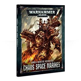 Codex - Heretic Astartes Chaos Space Marines (Español)