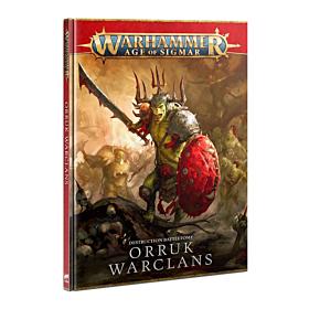 Libro - WHAOS Destruction Battletome Orruk Warclans (Inglés)