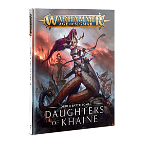 Libro - WHAOS Order Battletome Daughters of Khaine (Inglés)