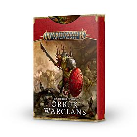 Warscroll Cards - Orruk Warclans (Ingles)