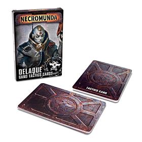 CARTAS - Necromunda Delaque Gang Tactics Cards (Inglés)