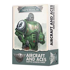 CARTAS - Aeronautica Imperialis Aircraft and Aces Adeptus Astartes (Inglés)