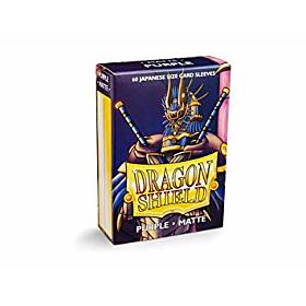 Dragon Shield - Micas Small JPN Size Purple Matte c/60
