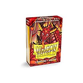 Dragon Shield - Micas Small JPN Size Crimson Matte c/60