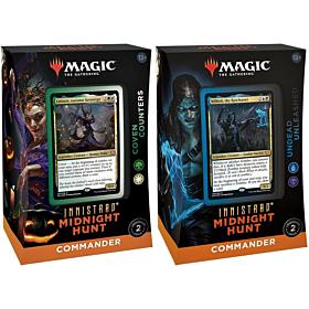 Magic the Gathering - Innistrad Midnight Hunt Commander Decks PAR (Inglés)