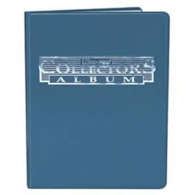 ULTRA PRO - 9 Pocket Collectors Portfolio Azul
